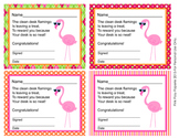 Flamingo Clean Desk Awards
