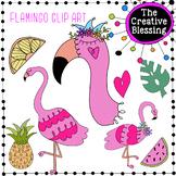 Pink Flamingo Clip Art