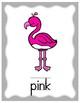 Flamingo Color Posters
