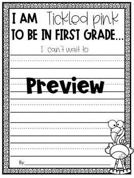 Flamingo Craft- I am TICKLED PINK to be in (kindergarten-fifth grade)