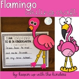 Flamingo Craft- I am TICKLED PINK to be in (kindergarten-f