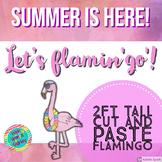 Flamingo Cut and Paste Craft