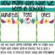 Flamingo Days in School Chart Freebie