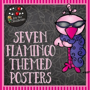 Posters - Flamingo Themed Decor