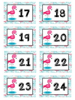 Flamingo Decor Printable Beginning of the Year