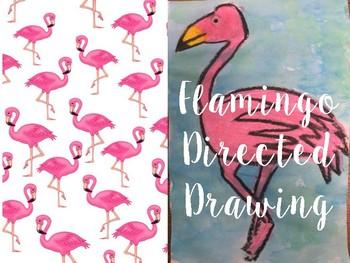 Flamingo Directed Drawing