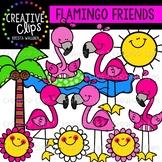 Flamingo Friends {Creative Clips Clipart}