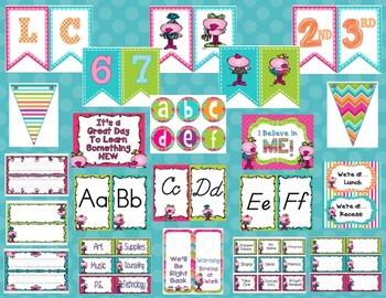 Flamingo Fun Classroom Decor & Set Up