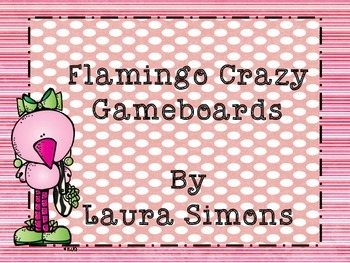 Flamingo Gameboard Set