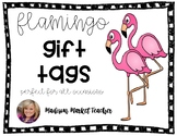 Flamingo Gift Tags- Welcome to Our Flock