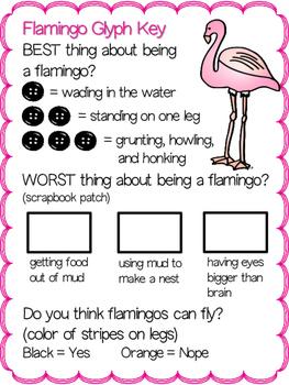 Flamingo Glyph