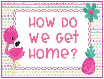 Flamingo How Do We Get Home Chart