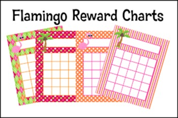 Flamingo Incentive Reward Charts