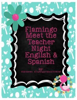 Flamingo Meet the Teacher Night English & Spanish