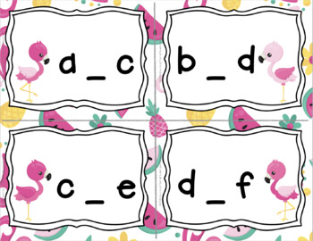 Flamingo Missing Letters