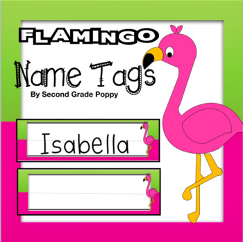 Name Labels Indigenous Birds Chevron Name Tags