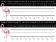 Flamingo Nametags - Editable