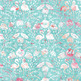 Flamingo Pattern Paper, Tropical Summer Vacation Backgrounds