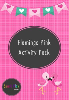 Flamingo Pink Activity Pack