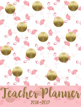 Flamingo Planner Cover