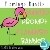 Flamingo Prompt and Banner Bundle