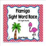 Flamingo Sight Word Race