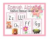 Flamingo Spanish Alphabet