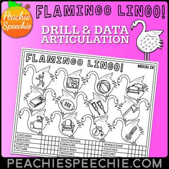 Flamingo Speech: Articulation Drill and Data Sheets
