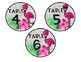 Flamingo Table Numbers