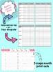 Teacher Planner 2017-2018 – Flamingo Theme