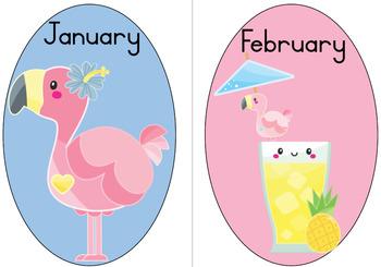 Flamingo Theme Classroom Resources
