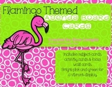 Flamingo Themed Agenda Board Cards
