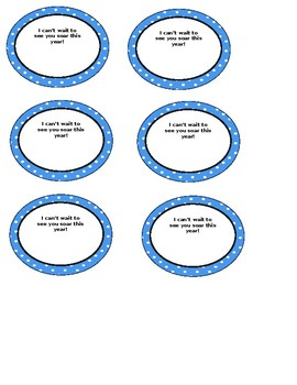Back to School Gift Tags- Hot Air Balloons