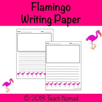 Flamingo Writing Paper