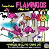 Flamingos Clip Art for Teachers