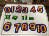 Flannel Board Numbers