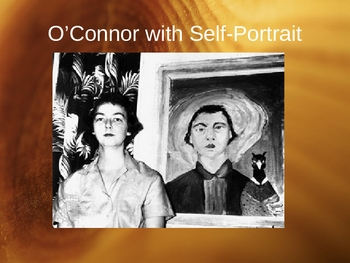 Flannery O'Connor's A Good Man is Hard to Find Powerpoint 46 slides