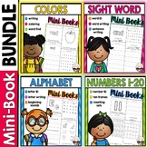 Mini-Book BUNDLE: Alphabet, Numbers, Colors, & Sight Words