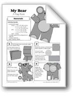 Flap Book - My Bear