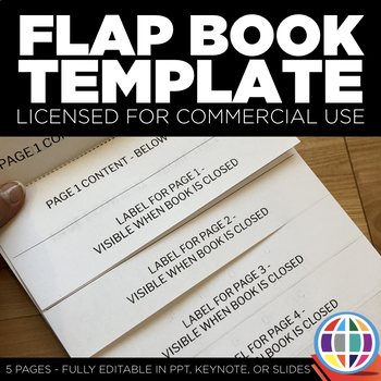 Flap Book Template