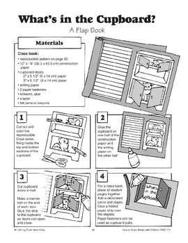 Flap Book - What's in the Cupboard?