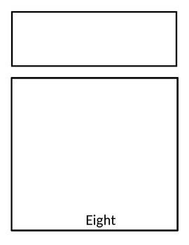 Flap Book with 8 spaces