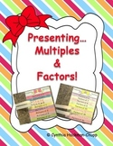 "Flap Books ""Present"" Multiples & Factors"