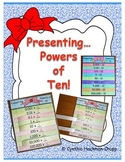 "Flap Books ""Present"" Powers of Ten (Multiply & Divide by 10, CCSS Grade 5)"