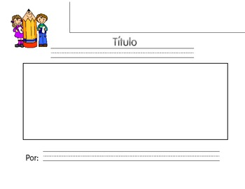 Flap book Beginning, Middle, End Spanish