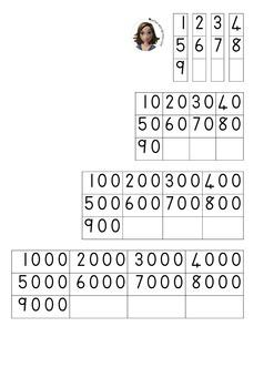 Flard Cards / Spreikaarte / Numbers