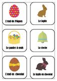 Flaschards vocabulaire Pâques