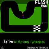Flash CS6 Lesson - Intro to Motion Tweening