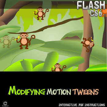 Flash CS6 Lesson - Modifying Motion Tweens