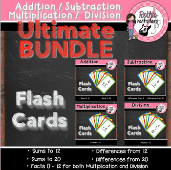 Flash Card Ultimate BUNDLE Pack